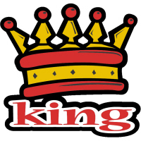 Cool Funky King Crown T-Shirts