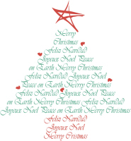 Multicultural Christmas Tree T-Shirts Gifts