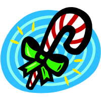 Cool Pop Christmas Candy Cane T-Shirts