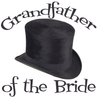 Top Hat Wedding Party Grandfather of the Bride