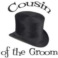 Top Hat Cousin of the Groom T-Shirts