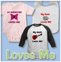 Somebody Loves Me Designs (Mommy, Daddy, etc)