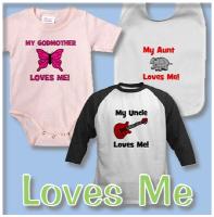 Somebody Loves Me Designs (Mommy, Daddy, etc)