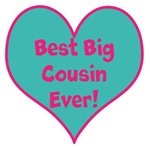 Best Big Cousin Ever! heart