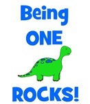 Being One Rocks! Dinosaur