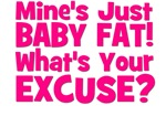 Baby Fat - Excuse? Pink