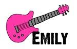 Guitar - Emily - Pink
