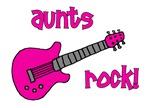 Aunts Rock! Pink Guitar