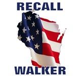 Recall Walker - State Flag Top/Bottom