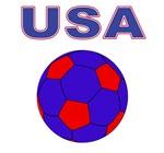 USA Soccer Tees