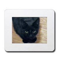 Custom Black Cat Design
