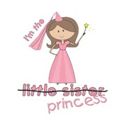 princess little sister cross