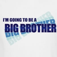 i'm going to be a big brother blue