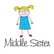 middle sister shirts stick figure