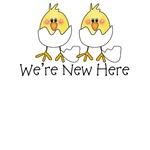 We're New Here Hatching Chicks