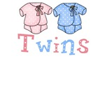 Pastel Twin Bodysuit for TWINS
