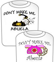 Call Abuela T-Shirt  Black Phone