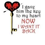 Anti-Valentine's Day Key T-Shirt
