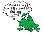 Frog Eat What Bugs You T-Shirt