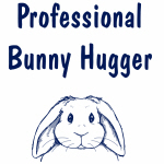Professional Bunny Hugger T-Shirts & Gifts