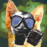 gas Mask cat