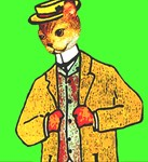 Mr Whiskers New suit