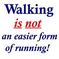 Walking is NOT an easier form of running