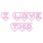 I Love TKD T-Shirts and Gifts