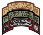 7th INF LRS Scrolls- All Colors
