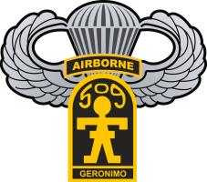 509th Airborne with Airborne Wings