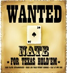 Wanted for Texas Hold'em - All Names