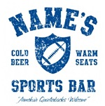 Name's Sports Bar - Distressed