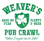 Weaver's Irish Pub Crawl