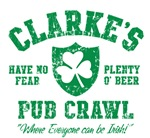 Clarke's Irish Pub Crawl