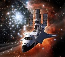 Space Shuttle Atlantis Hubble Service Mission 4