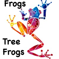FROGS, TREE FROG GIFTS