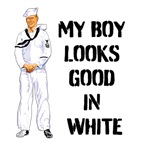 my sailor looks good in white