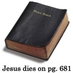 Jesus Dies On Page 681