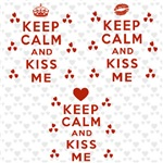 Keep Calm and Kiss Me T-Shirts, Apparel & Gifts