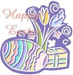 Happy Easter Pastel Design
