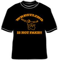 Wrestling is not fake!