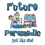 Future Paramedic just like Dad