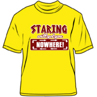 Staring will get you nowhere!