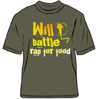 Will battle rap for beer