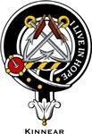 Kinnear Clan Crest Badge