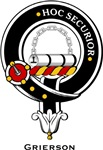 Grierson Clan Crest Badge