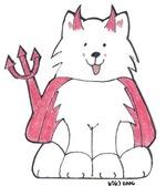 Devil Samoyed