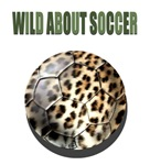 Leopard Print Soccer Ball