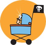 Pirate Stroller