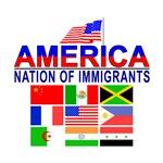 Patriotic America NOI Flags